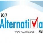 Logo da emissora Rádio Alternativa 90.7 FM