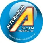 Logo da emissora R�dio Alternativa 87.9 FM
