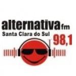 Logo da emissora R�dio Alternativa 98.1 FM
