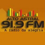 Logo da emissora R�dio Alto Astral 91.9 FM