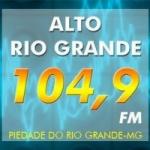 Logo da emissora Rádio Alto Rio Grande 104.9 FM