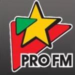 Logo da emissora Pro 106.9 FM Michael Jackson