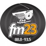 Logo da emissora 23 FM 88.8