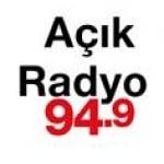 Logo da emissora A�ik Radio 94.9 FM