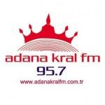 Logo da emissora Adana Kral 95.7 FM