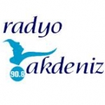 Logo da emissora Akdeniz 90.8 FM