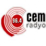 Logo da emissora Cem Radyo 96.4 FM