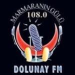 Logo da emissora Dolunay 108 FM