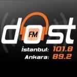 Logo da emissora Dost FM