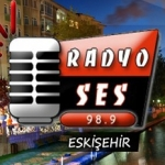 Logo da emissora Eskisehirradyoses 98.9 FM