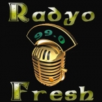 Logo da emissora Fresh FM