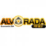 Logo da emissora Rádio Alvorada 1480 AM