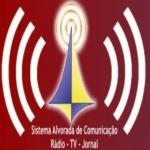 Logo da emissora R�dio Alvorada 100.1 FM