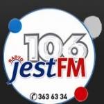 Logo da emissora Jest 106 FM
