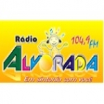 Logo da emissora R�dio Alvorada 104.9 FM