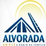 Logo da emissora R�dio Alvorada 970 AM