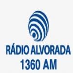 Logo da emissora R�dio Alvorada 1360 AM
