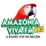 Logo da emissora Rádio Amazônia Viva 89.5 FM