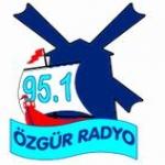 Logo da emissora Ozgur 95.1 FM