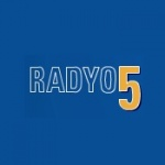 Logo da emissora Radyo 5 FM 94.7