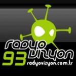 Logo da emissora Vizyon Ankara 93.1 FM