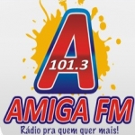 Logo da emissora R�dio Amiga 101.3 FM
