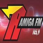 Logo da emissora R�dio Amiga 105.9 FM