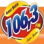 Logo da emissora Rádio Amor Butiá 106.3 FM