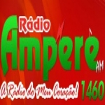 Logo da emissora R�dio Amp�re 1460 AM