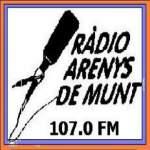 Logo da emissora Radio Arenys de Munt 107 FM