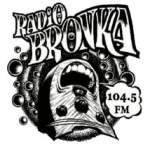 Logo da emissora Radio Bronka 104.5 FM