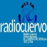Logo da emissora Radio Cuervo 107.2 FM