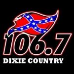 Logo da emissora WOKA 106.7 FM Dixie Country