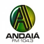 Logo da emissora R�dio Andai� 104.3 FM