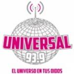 Logo da emissora Radio Universal 93.9 FM