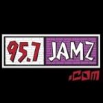 Logo da emissora WBHJ 95.7 FM