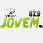 Logo da emissora Rádio Antena Jovem 87.9 FM
