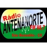 Logo da emissora R�dio Antena Norte 98.7 FM