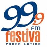Logo da emissora Radio Festiva 99.9 FM