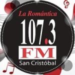 Logo da emissora Radio La Romántica 107.3 FM