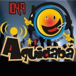 Logo da emissora R�dio Aquidab� 104.9 FM