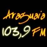 Logo da emissora Rádio Araguaia 103.9 FM