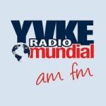 Logo da emissora Radio Mundial 104.1 FM