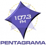 Logo da emissora Radio Pentagrama 107.3 FM