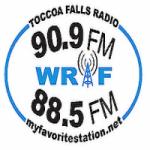 Logo da emissora Radio WRAF 90.9 FM