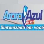 Logo da emissora R�dio Arara Azul 96.9 FM