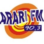 Logo da emissora R�dio Arari 90.3 FM