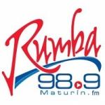 Logo da emissora Radio Rumba 98.9 FM