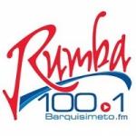 Logo da emissora Radio Rumba 100.1 FM