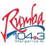 Logo da emissora Radio Rumba 104.3 FM